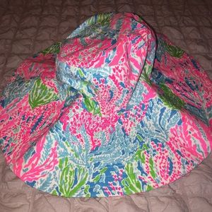 Lilly Pulitzer Let's Cha Cha Bucket Beach Hat